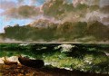 The Stormy Sea or The Wave WBM Realist painter Gustave Courbet